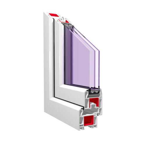 Пластиковое окно KBE Gut