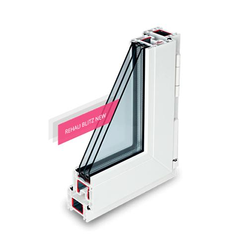 Пластиковое окно RehauBLITZ