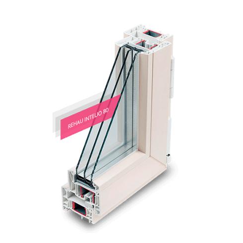 Пластиковое окно Rehau INTELIO 80