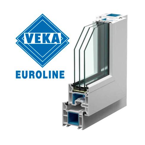 Пластиковое окно VEKA Euroline