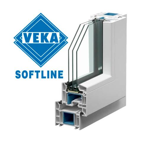 Пластиковое окно VEKA Softline