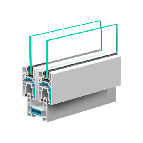 Пластиковое окно VEKA Sunline